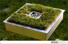 Eco Ashtrays - Counterbalance Smoking With 'Save The Green Field' Ashtrays