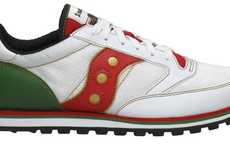 Cinco Celebration Shoes - The Saucony Cinco De Mayo Puts the History of the Holiday at Your Feet