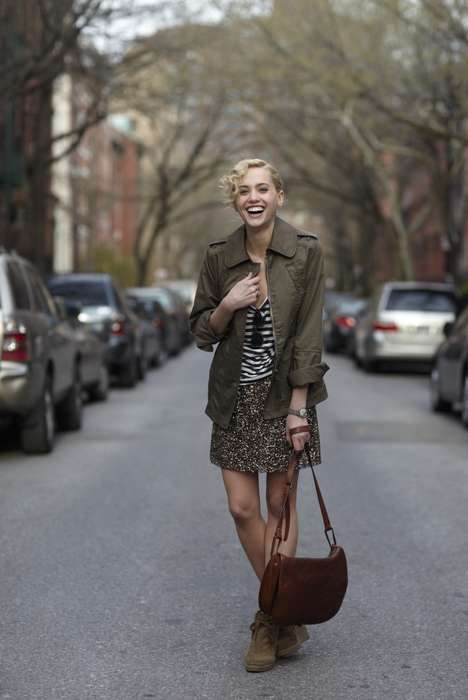 Street Style Lookbooks - The Talented Garance Dore and Club Monaco Team Up