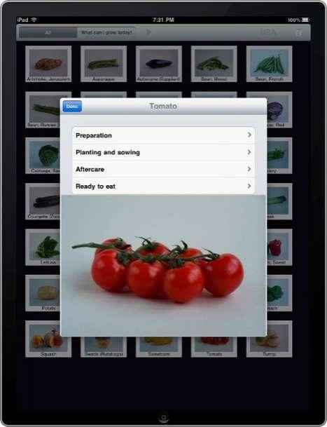 Green Thumb iPad Apps