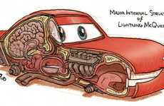Animated Car Anatomy - Jake Parker Spills the Guts on Pixar's 'Cars'