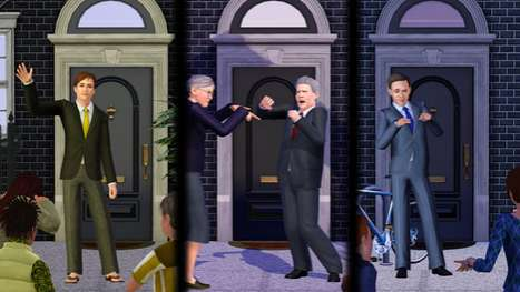 Mock Election Launch Stunts