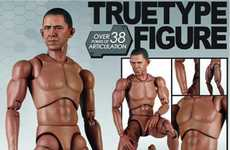 Obama Look-Alike Dolls - African-American Advanced TTM-15 Action Figure Looks Just Like the Prez