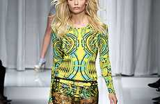 Kaleidoscopic Runway Fashion