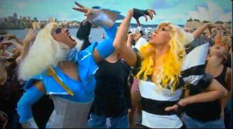 Lady Gaga Dance Battles