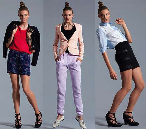 Bright Preppy Fashion