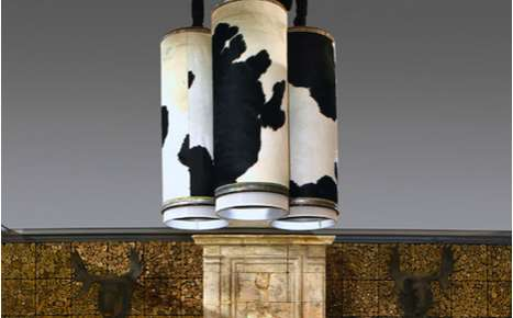Cowhide Lighting