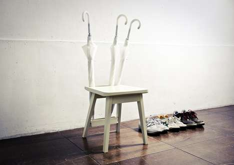 Umbrella-Backed Seats