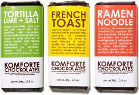 Comfort Food Chocolate Blends