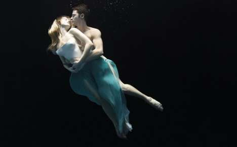 Underwater Coupletography - Nadia Moro Captures the Surreal Grace of Submerged Models