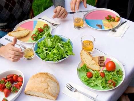 Diet-Aiding Dinner Plates