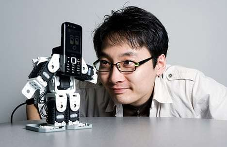 Cell Phone Robots