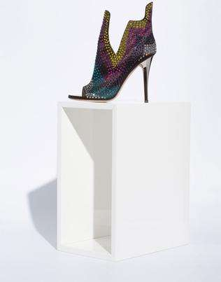 Fine Art Heels - The Giuseppe Zanotti Spring/Summer Shoe Collection is Museum-Worthy