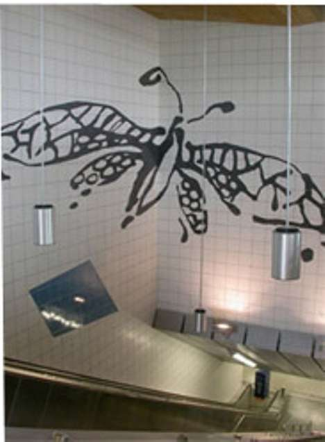Anamorphic Subway Art
