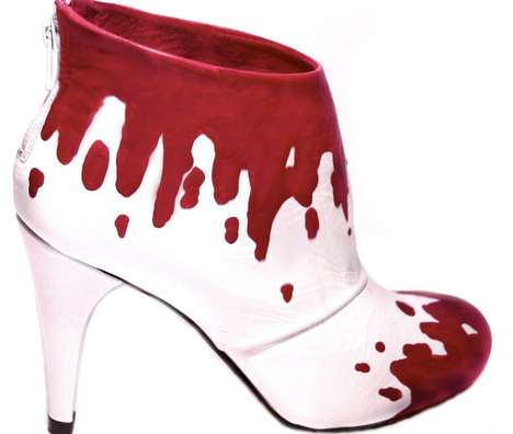 Blood-Dripping Booties - The Kamaeleon Shoe Collection Embodies Badass Style