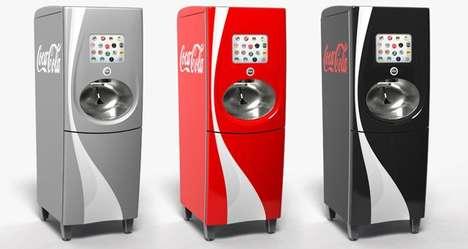 Customizable Coke Machines