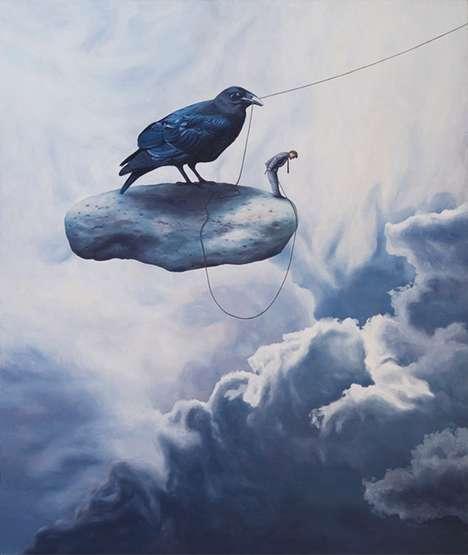 Criminal Crow Art