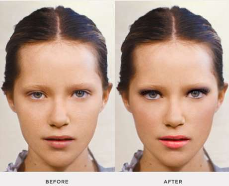 Full-Service Virtual Makeovers - Topshop Makeup is Test-Worthy and Convenient
