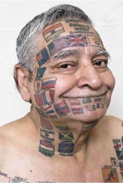Tattooed U.N. Tributes