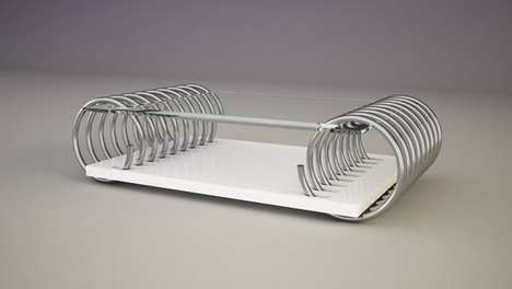 Coil-Bound Coffee Tables