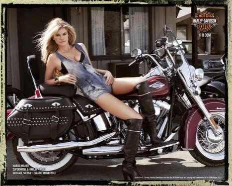 Supermodel Biker Babes