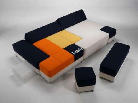 Puzzling Modular Furniture