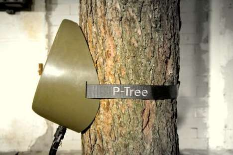 Tree-Mounted Urinals
