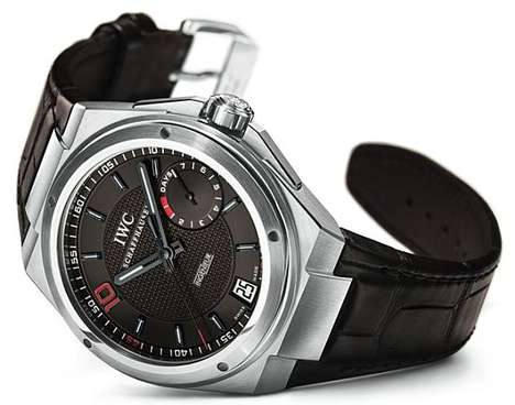 The Sleek Zinedine Zidane Watch by IWC Ingenieur