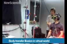 Misleading Virtual Reality - The Body Transfer Illusion Places People in a Realistic Virtual World
