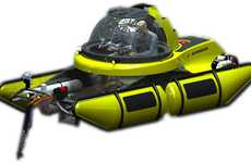 Enhanced Personal Submarines - U-Boat Worx C-Explorer Improves on C-Quester Underwater Craft