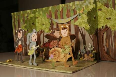 Pop Culture Mashup Dioramas