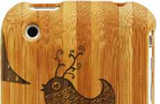 Laser-Engraved iPhone Cases  - The Customizable Grove iPhone Case has a Natural Groove
