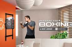LED Punching Bags - The Interactive Decathlon Punching Bag by Domyos