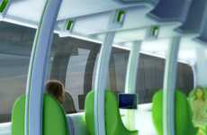 Super-Comfortable Subways - These Chris Precht Train Designs are Extraordinary