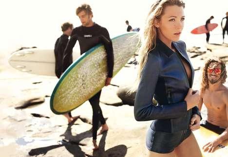 Leather Surf Wear