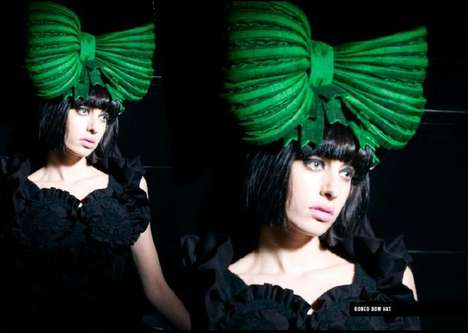 Giant Green Bows