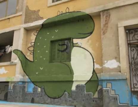 Stop-Motion Graffiti Ads