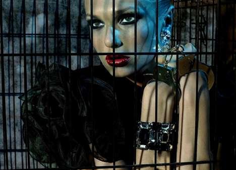 Cryptic Caged Fashiontography