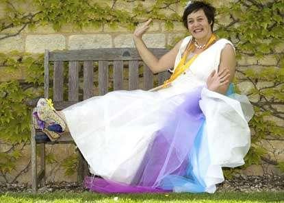 Bubble Wrap Wedding Dresses