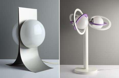Retro Sci-Fi Lamps