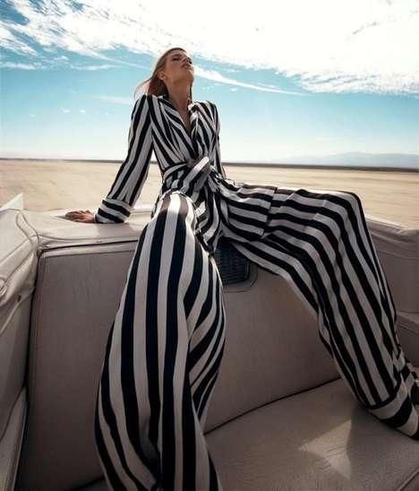 Super Striped Jumpsuits
