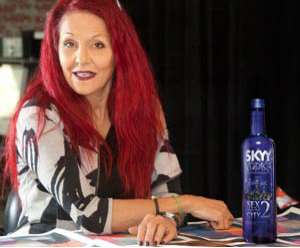 The Skyy Vodka 'Sex and the City 2' Bottle is Glitterized Glamour