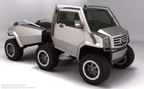 Insect-Inspired Adventure Vehicles