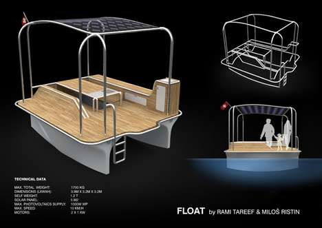 Solar Powered Party Boats