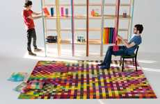 8-Bit Rugs - The 'Digit' Pixelated Carpet by Nanimarquina Designs is Interior Design Genius