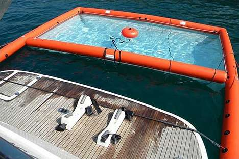 Inflatable Boat Pools - The Magic Swim Keeps Out Unwanted Visitors When Boating
