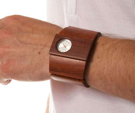 Wooden Watch Cuffs
