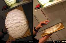 Novel Accordion Lights - The Book Lamp by Myung-Seo Kang Should Play Music Too