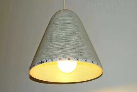 Tape Measure Lamps