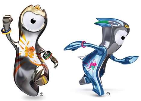 Cute Cyclops Mascots